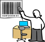 Barcode freehand drawings