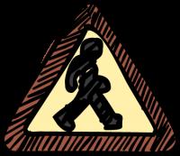 Pedestrian crossingFreehand Image