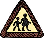 download free School crossing image