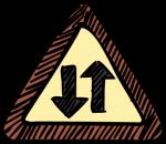 download free Tow way traffic image