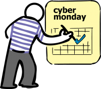 Cyber mondayFreehand Image