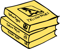Yellow pagesFreehand Image