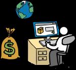 download free Money bag image