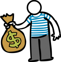 Money bagFreehand Image