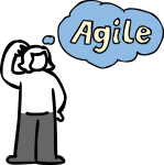 Think agile freehand drawings