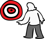 Target freehand drawings