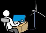Alternative energy freehand drawings