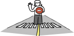 download free Zebra crossing image