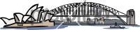 Opera house sydney harbour bridgeFreehand Image