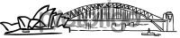 Opera house sydney harbour bridge