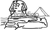 Sphinx egyptFreehand Image