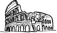 Coliseum rome italyFreehand Image