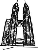 Petronas towers kuala lumpur malaysiaFreehand Image