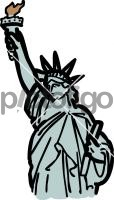 Statue of liberty new york usaFreehand Image
