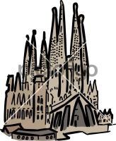 Sagrada familia barcelona spainFreehand Image