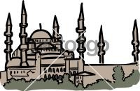 Blue mosque istanbul turkeyFreehand Image