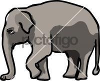 ElephantFreehand Image