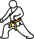 Karate freehand drawings