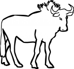 Gnu freehand drawings