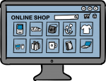 E-Commerce Site freehand drawings
