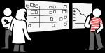 Kanban freehand drawings