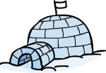 Igloo freehand drawings