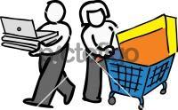 Black friday shoppingFreehand Image