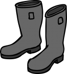 Jackboot freehand drawings