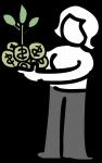 Venture Capital freehand drawings