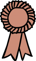 Ribbon badgeFreehand Image