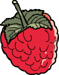 Raspberry freehand drawings