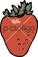 StrawberryFreehand Image