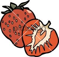StrawberryFreehand Image
