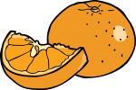 Tangerine freehand drawings