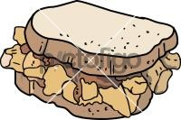 Chip butty SandwichFreehand Image