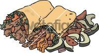 Tuna WrapFreehand Image