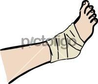 Leg bandageFreehand Image
