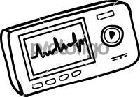 ECG MonitorFreehand Image