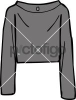 Cropped top womenFreehand Image