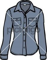 Denim shirt womenFreehand Image