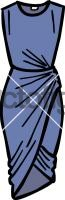 Draped dress womenFreehand Image