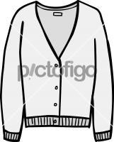 Fine knit cardigan womenFreehand Image