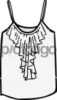 Frilled top womenFreehand Image