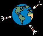 Global warming freehand drawings