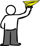 download free Paper airplane image
