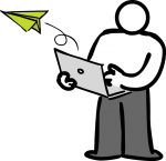 download free Paper airplane image