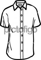 Short sleeved shirt men
