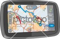 GPS Sat NavFreehand Image