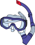 Swimming Goggles freehand drawings