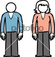 Man WomenFreehand Image